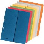 Dosar incopciat cu capse, 1/2, carton color 250 gr/mp, FALKEN