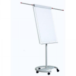 Flipchart magnetic, mobil, brate laterale, 70x100 cm, OPTIMA Vision