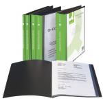 Mapa | dosar de prezentare personalizabil, A4, 20 folii, Q-CONNECT
