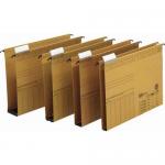 Dosar suspendabil cu burduf 40 mm, bagheta metalica, carton 320 gr/mp, ELBA Vertic