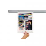 Sina metalica prindere documente, 90 cm, JALEMA Grip