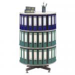 Suport rotativ pentru bibliorafturi, 80x93 cm