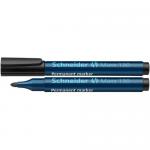 Marker permanent, varf rotund 1-3 mm, negru, SCHNEIDER Maxx 130
