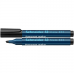 Marker permanent, varf tesit 1-4 mm, negru, SCHNEIDER Maxx 133