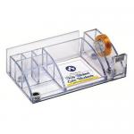 Suport tidy pentru articole birou, plastic ABS, 9 compartimente, ARK 2043