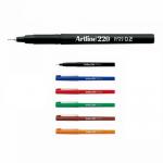 Liner cu varf fetru, 0.2 mm, ARTLINE 220