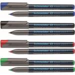 Marker permanent OHP, varf rotund 0.7 mm, SCHNEIDER Maxx 222F