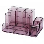 Suport pentru articole birou, plastic ABS, 8 compartimente, KEJEA
