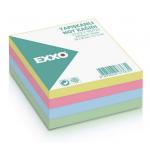 Cub notite autoadeziv, 50x50 mm, 5 culori pastel, 250 file/buc, EXXO