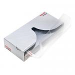 Dispenser cu folii protectie documente A4, cristal, 55 microni, 40 bucati | cutie, ESSELTE
