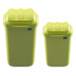 Cos plastic cu capac batant, 50 litri, PLAFOR Fala