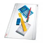 Folie protectie documente A4, fermoar, cristal, 200 microni, 5 bucati | set, ESSELTE