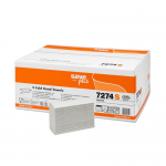 Servetele | prosoape pliate V, 2 straturi, 22x25 cm, 200 buc | set, CELTEX