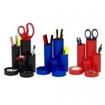 Suport pentru articole birou, plastic ABS, 6 compartimente, FLARO