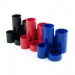 Suport pentru articole birou, plastic ABS, 4 compartimente, FLARO