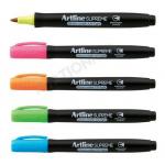 Marker permanent, cerneala neon UV, varf rotund 1 mm, ARTLINE Supreme Glow
