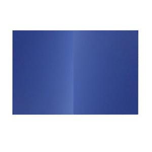 Dosar simplu, carton 250 gr/mp, albastru, ELBA