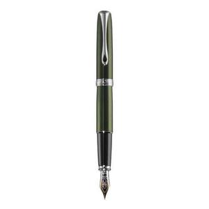 Stilou cu penita aurita DIPLOMAT Excellence A² Evergreen Chrome